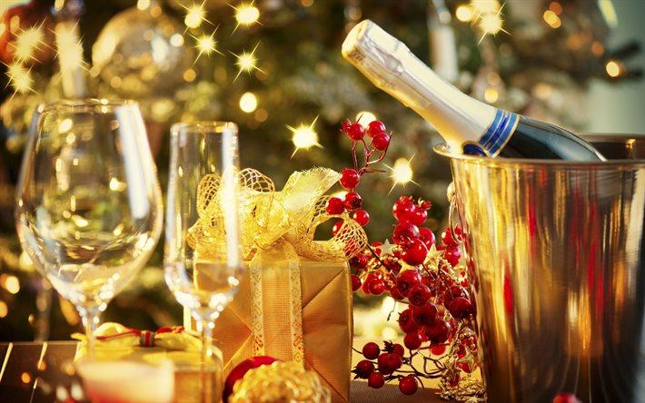 Кто придумал пить шампанское на новый год